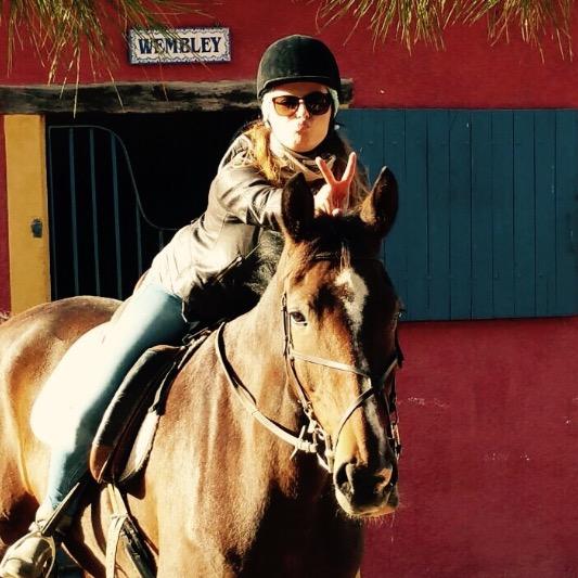 Le vignoble bordelais à cheval !