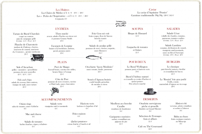 Map the Gordon Ramsay Bordeaux / the routes of Charlotte