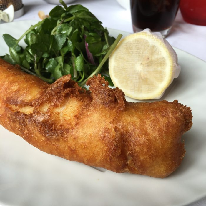 Fish And Chips Gordon Ramsay / routes of Charlotte
