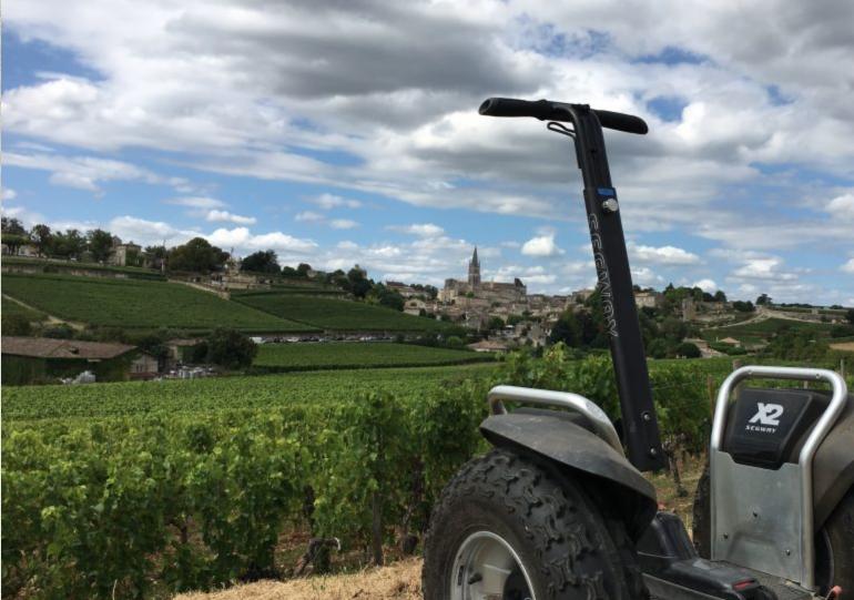 Discover Saint-Emilion by…SEGWAY®!