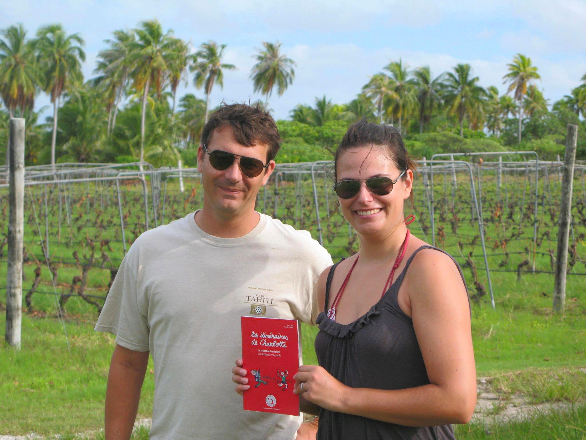Un vignoble en Polynésie – le vin de Tahiti