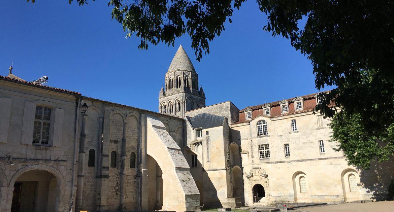 Visite héroïque de l'Abbaye aux Dames – Saintes