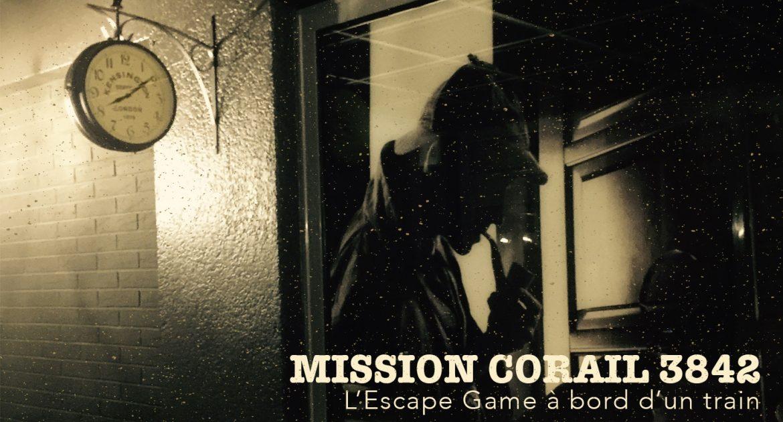 Mission Corail 3842 – Un Escape Game dans un train