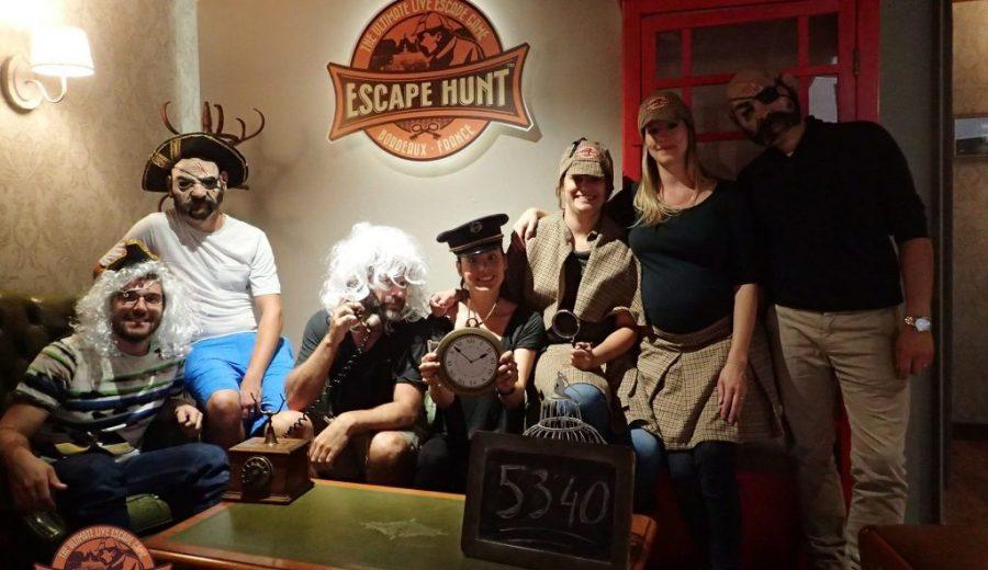 Escape Hunt à Bordeaux
