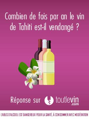 Toutlevin - Vin de Tahiti